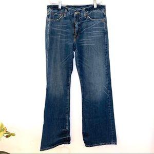 Lucky Brand Jeans fender 30 x 30 relaxed denim men